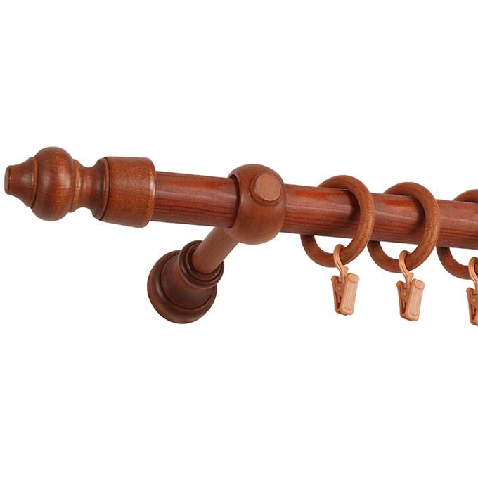 karnisz drewniany typu paola