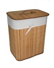 przykład bambusowego kosza na pranie