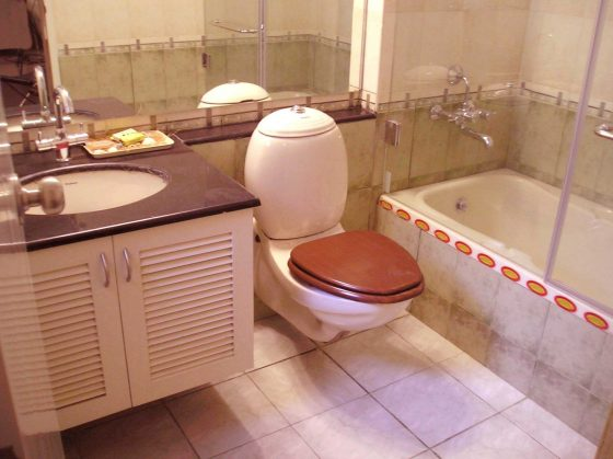stylowa łazienka