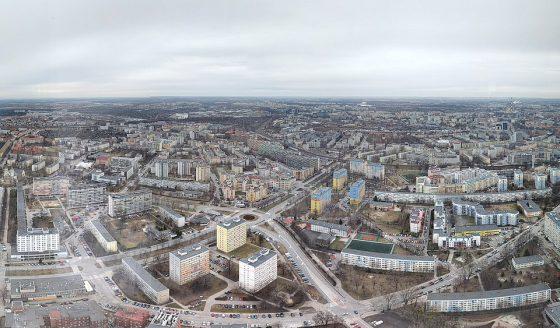 mieszkania we Wrocławiu - widok